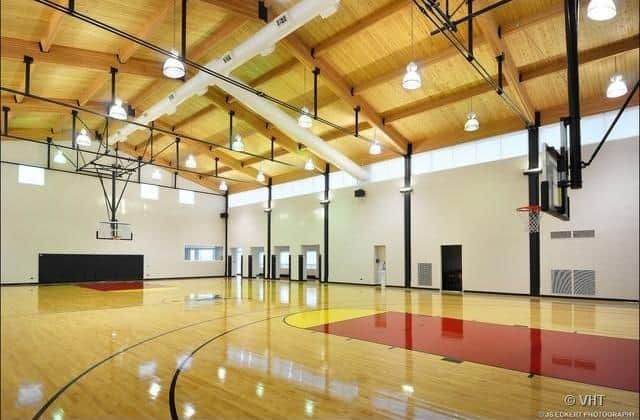 Score Points With These 5 Homes With Indoor Basketball Courts
