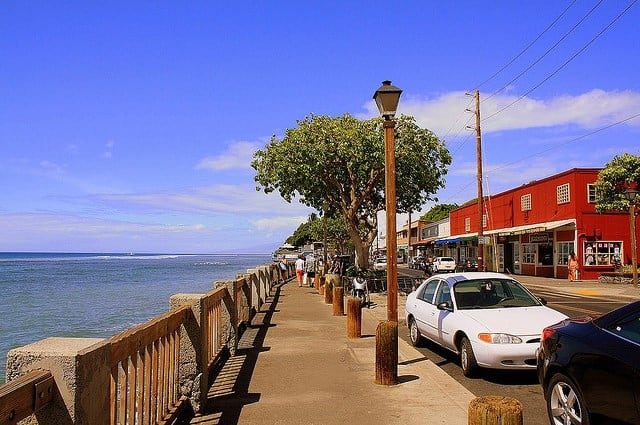best beach towns Lahaina